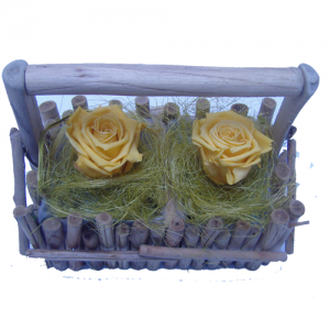 roses jaune composition fleurs